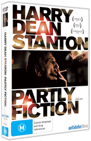 Harry Dean Stanton Partly Fiction DVD cover
