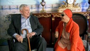 Gore Vidal and Alicia Alonso