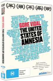 Gore Vidal: The United States of Amnesia DVD cover