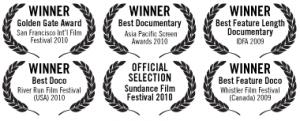 Last Train Home film award laurels