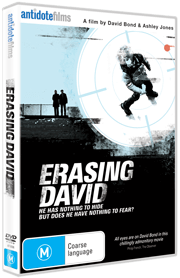 Erasing David DVD cover