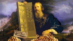 Make Hummus Not War - Commandments