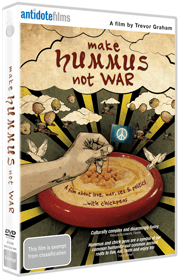 Make Hummus Not War DVD cover