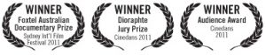 Life in Movement film award laurels