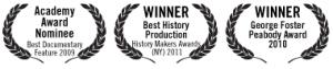 Most Dangerous Man in America film award laurels